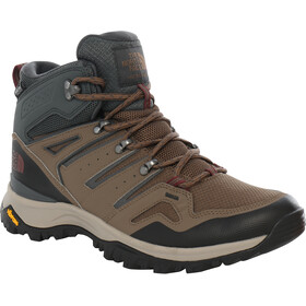 The North Face Hedgehog Fastpack II WP Botas Corte Medio Hombre, bipartisan brown/dark shadow grey